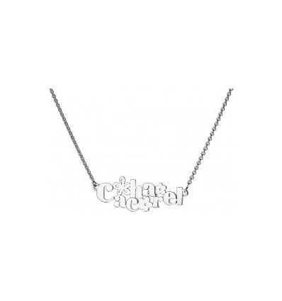COLLIER CACHAREL ARGENT - CACHAREL