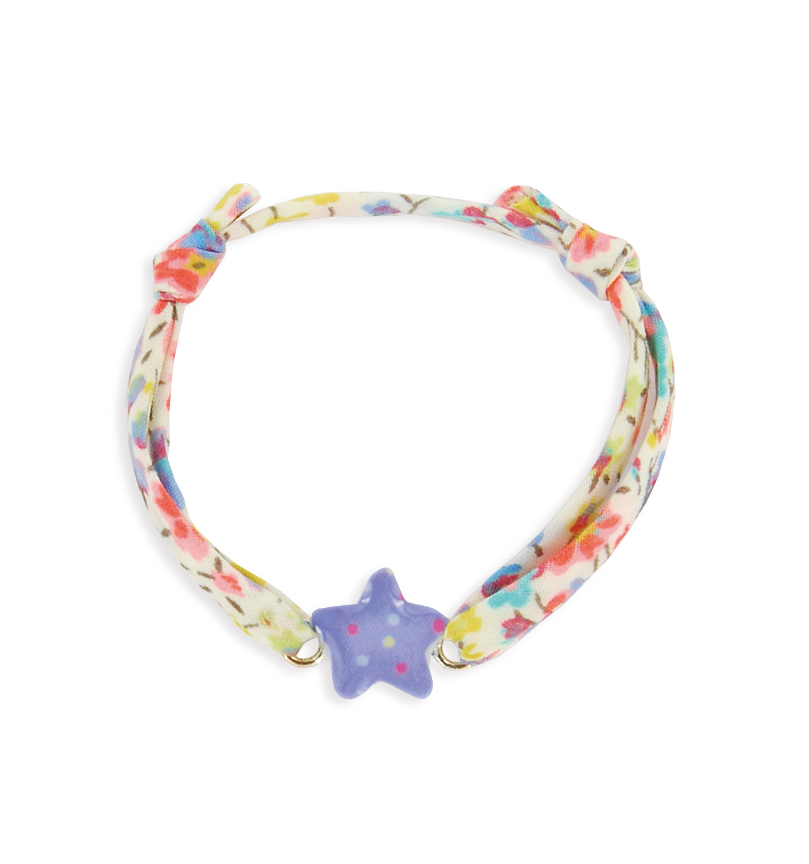 ccdac89da76a55 bracelet enfant étoile ruban ribambelle,idée cadeau baptême,boulogne ...