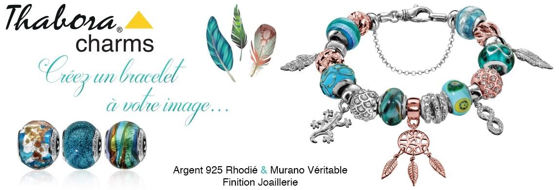 99fe8bbbd Les bracelets et colliers THABORA CHARMS sont à créer selon vos envies !  Saisissez l'opportunité de créer le bijou qui vous ressemble !